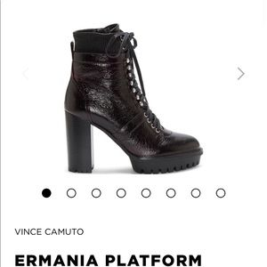 Brand New Vince Camuto Ermania Platform Booties